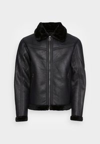 BELL - Giacca in similpelle - black