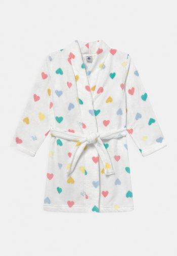 TUNA - Dressing gown - marshmallow/multi-coloured