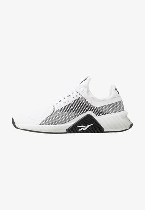 FLASHFILM TRAIN - Sports shoes - white/black/silver metallic