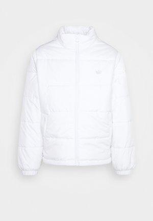 PAD STAND PUFF - Winter jacket - white