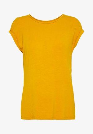 Jednoduché triko - golden yellow