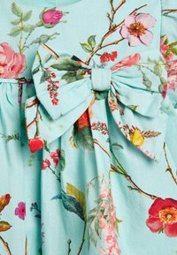 Next - TEAL FLORAL PROM DRESS WITH KNICKERS AND HEADBAND (0MTHS-2YRS) - Korte jurk - blue - 5