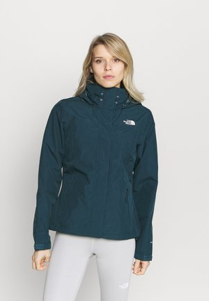 SANGRO JACKET - Chaqueta Hard shell - montery blu dark heather