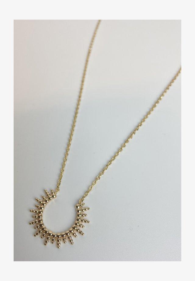 SUN  - Necklace - gold