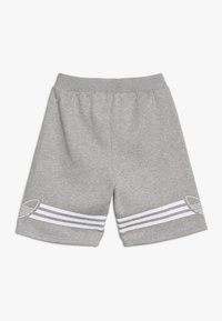 adidas Originals - OUTLINE - Shorts - medium grey heather/white - 1