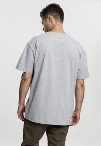 Urban Classics - HEAVY OVERSIZED TEE - T-shirt basic - grey - 0