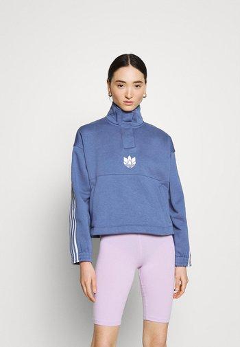 Sweatshirt - crew blue