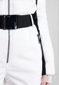 Luhta - JAAMA - Pantaloni da neve - optic white - 8