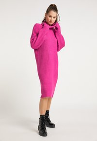 myMo - Jumper dress - fuchsia - 0