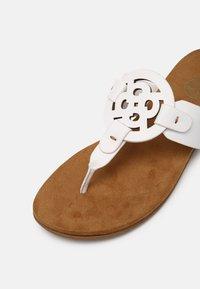 Bugatti - JASMIN - T-bar sandals - white - 7