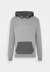 CLOSURE London - CONTRAST HOOD WITH TAPING - Hoodie - grey - 4
