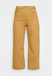 Vero Moda - VMKATHY LOOSE CROPPED - Straight leg jeans - tobacco brown