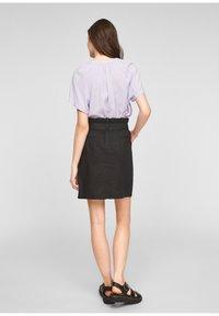 Q/S designed by - A-line skirt - black - 2