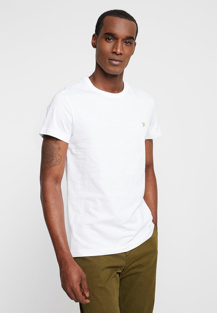 Farah FARRIS TWIN 2 PACK - T-paita - white/black XZDBVJJI