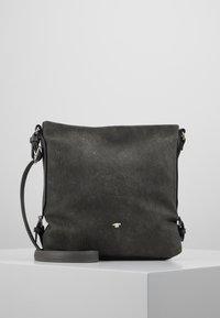 TOM TAILOR - PERUGIA - Across body bag - dark grey - 0