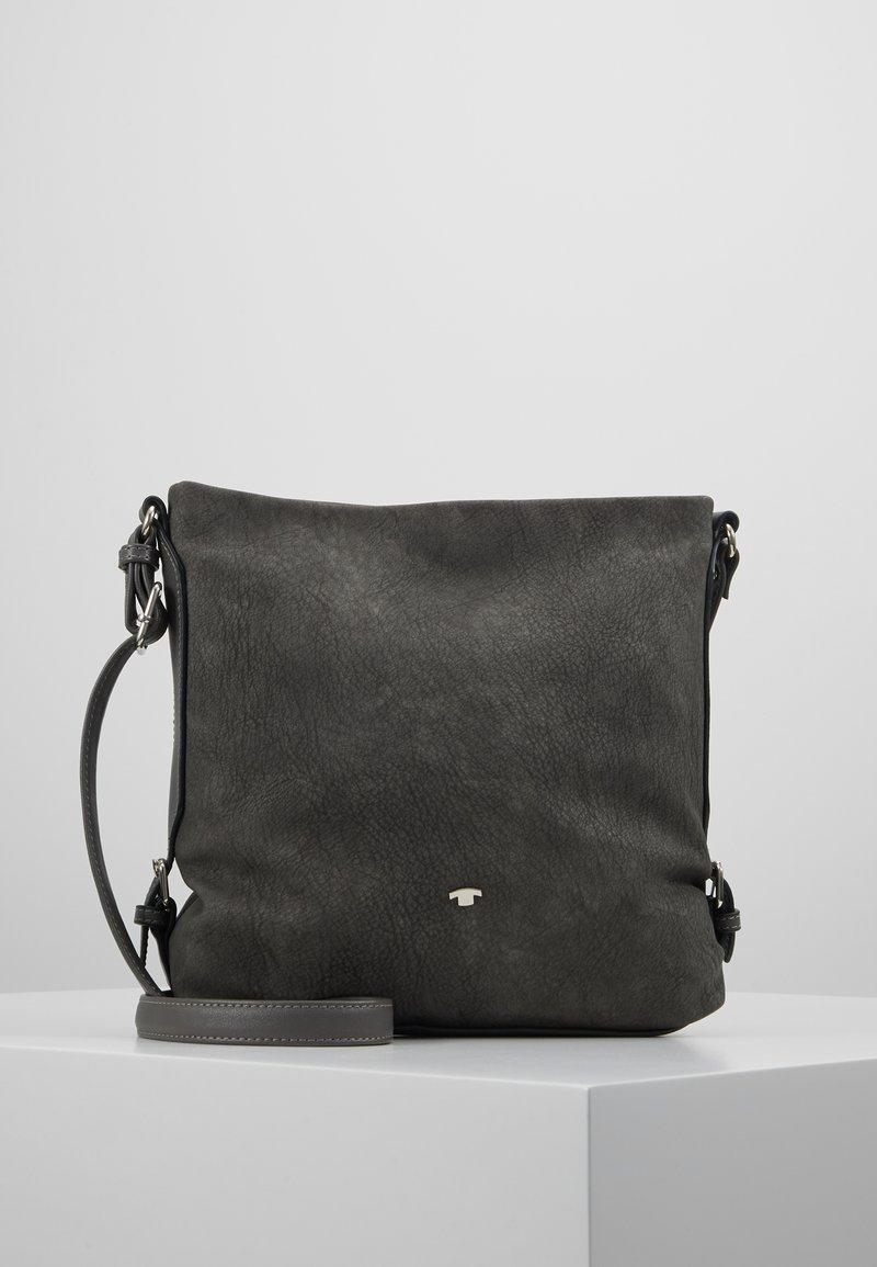 TOM TAILOR - PERUGIA - Across body bag - dark grey