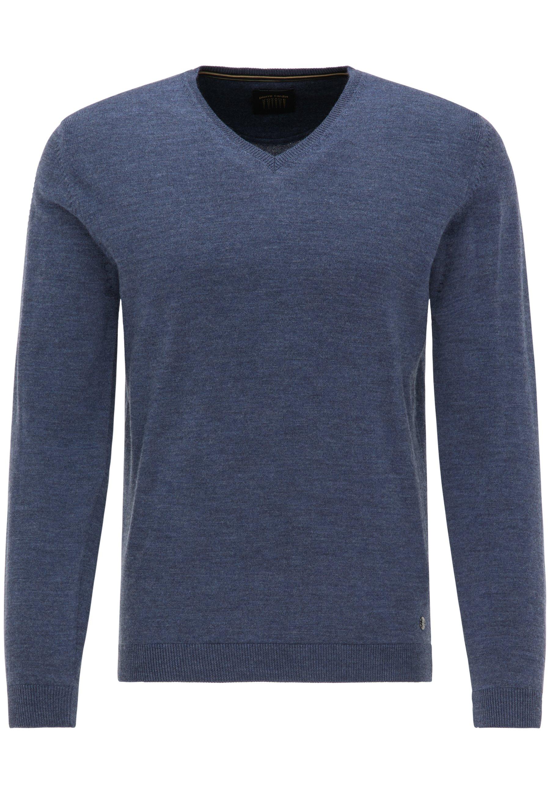 Pierre Cardin heren trui blauw melange
