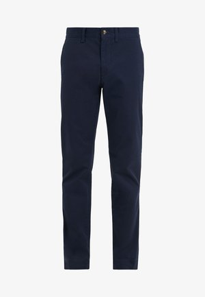 SLIM FIT BEDFORD PANT - Tygbyxor - nautical ink