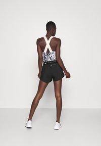 adidas by Stella McCartney - TRUEPACE - Sportovní kraťasy - black - 2