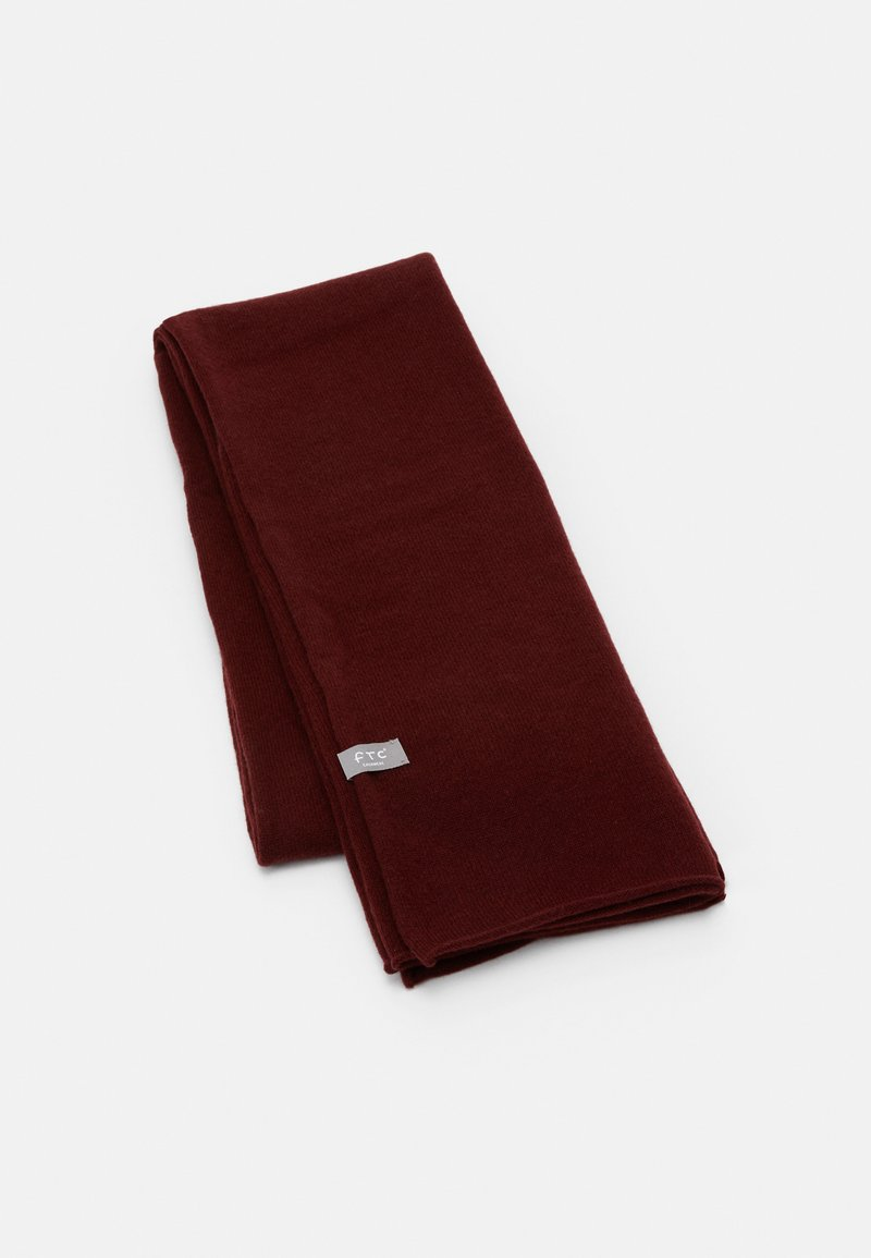 FTC Cashmere - CLASSIC SCARF - Scarf - bordeux