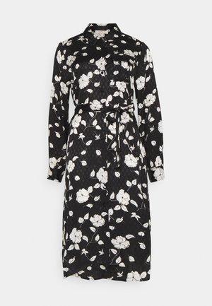 ENTHOUSIASME ROBE - Shirt dress - black