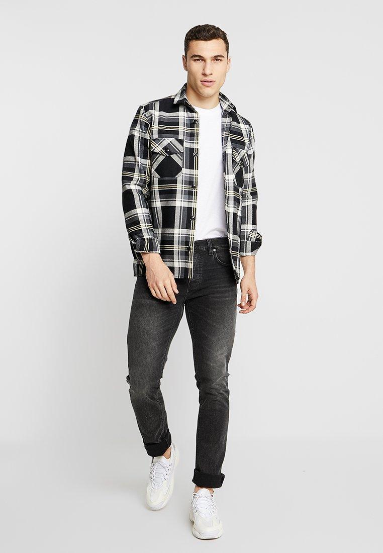 Nudie Jeans GRIM TIM - Jean slim - concrete black