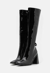 RAID Wide Fit - WIDE FIT DONITA - Boots - black - 2