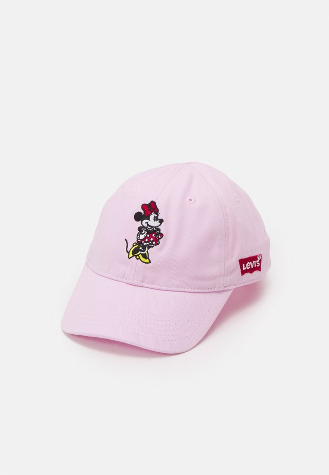 LAN MICKEY CURVED BRIM UNISEX - Kšiltovka - pink lady