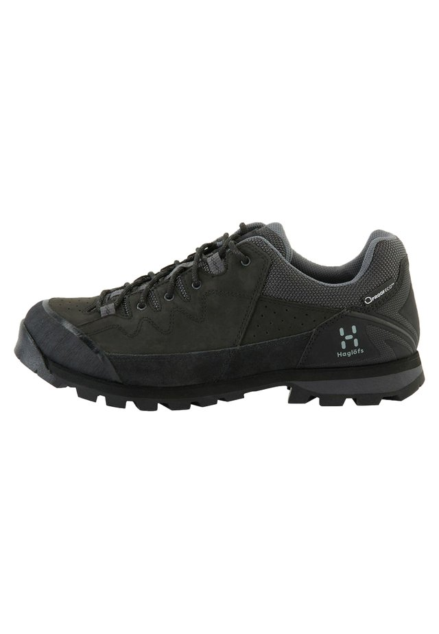 VERTIGO PROOF ECO - Hiking shoes - true black