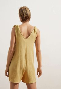 OYSHO - Overall / Jumpsuit - yellow - 1