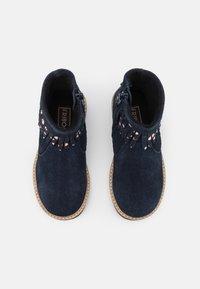 Friboo - LEATHER - Korte laarzen - dark blue - 3