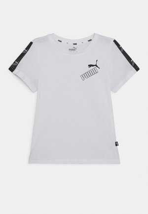AMPLIFIED TEE  - T-shirt con stampa - white