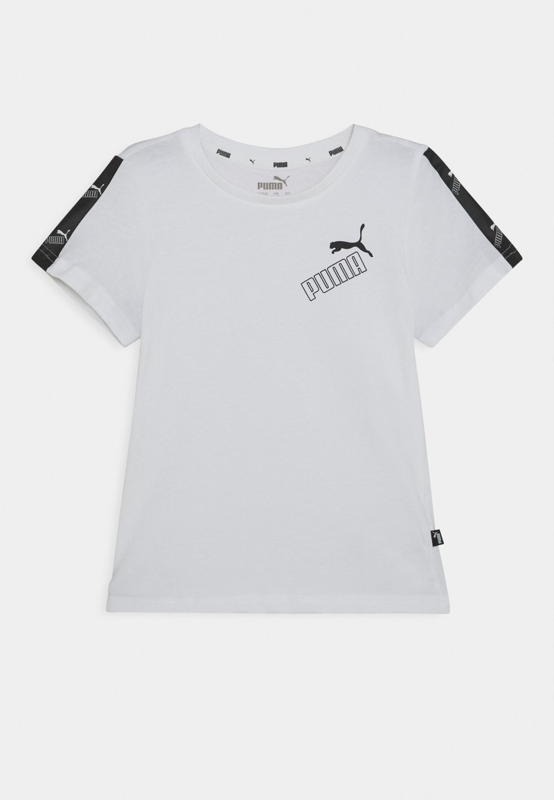 Puma - AMPLIFIED TEE  - T-shirt print - white
