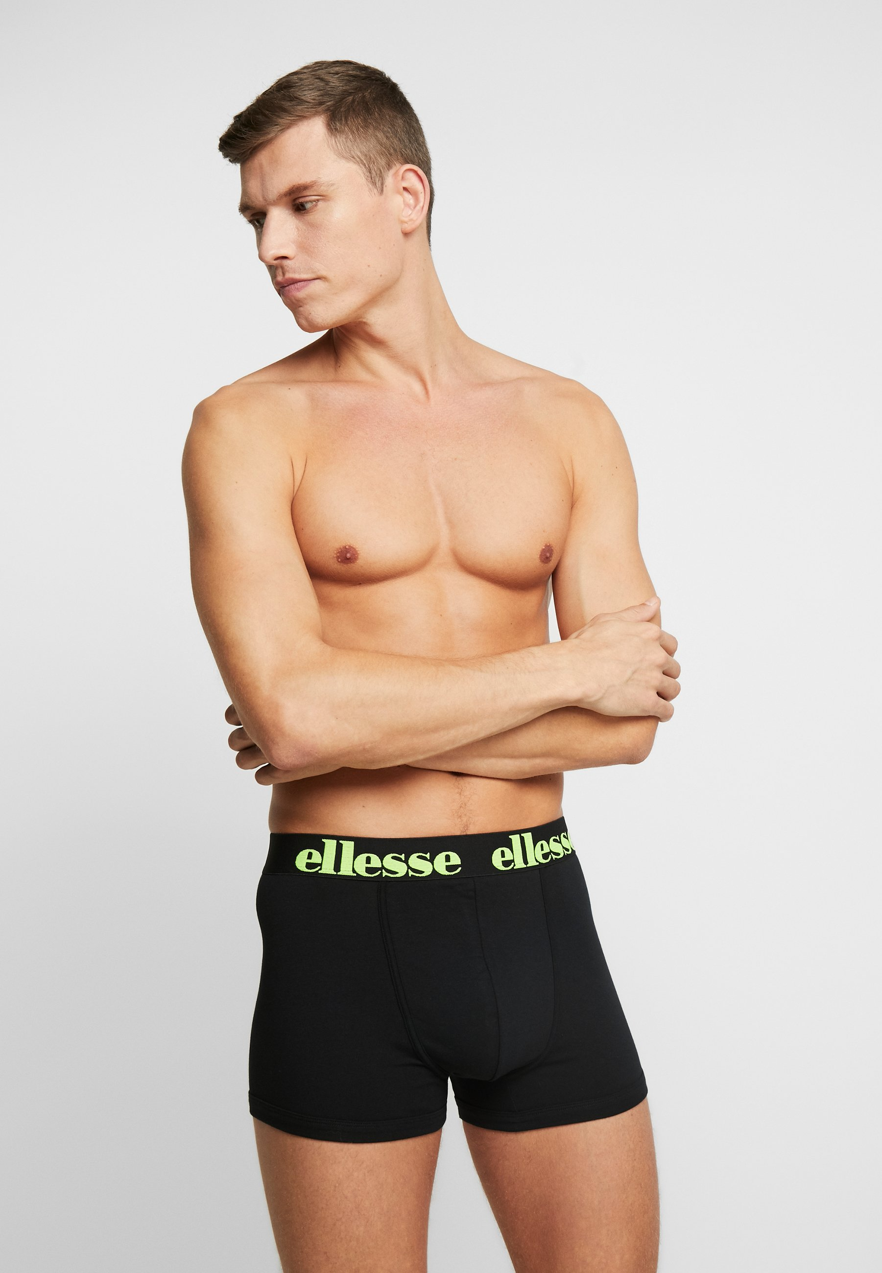 Ellesse Parmo Fashion Trunks 2 Pack - Underbukse Black/svart