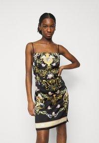 Versace Jeans Couture - LADY DRESS - Koktejlové šaty/ šaty na párty - black - 0