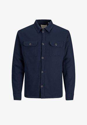 KARIERTES WORKER - Shirt - navy blazer