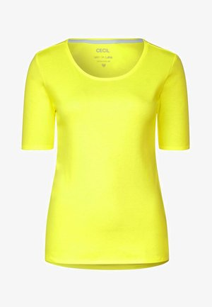 LENA - Basic T-shirt - yellow