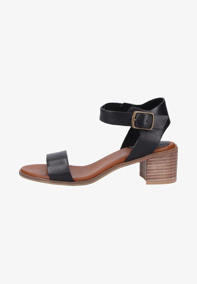 Sandalen met enkelbandjes - black