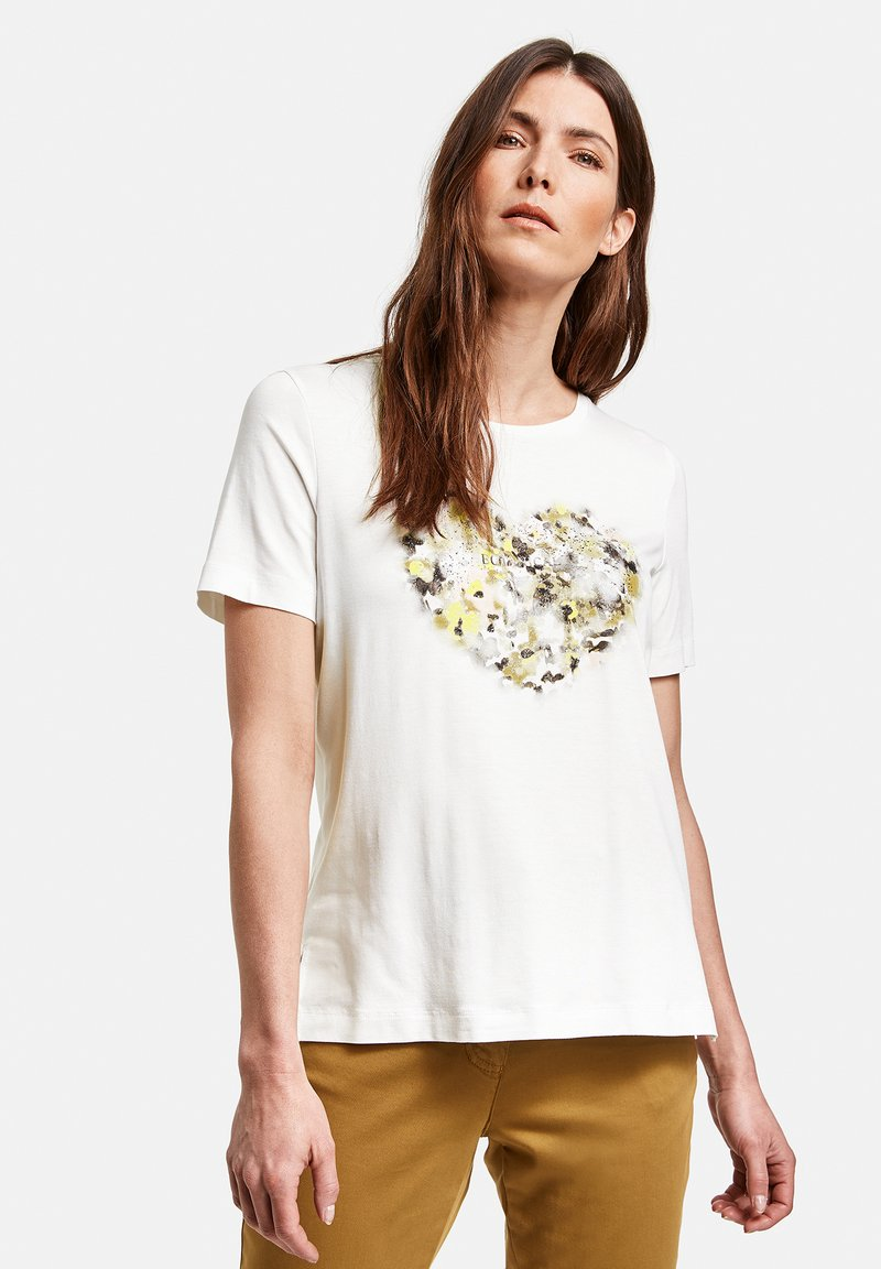 Gerry Weber - 1/2 ARM - Print T-shirt - off-white