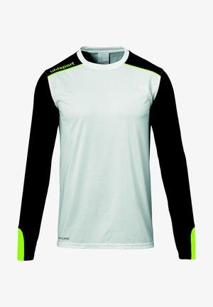 TOWER  - Goalkeeper shirt - weiß/schwarz/fluo gelb