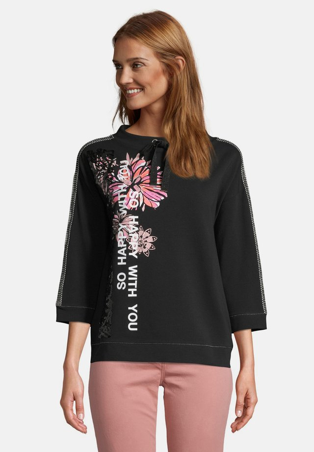 Sweater - black/rosé