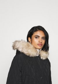 ONLY - ONLSELINE QUILTED - Parka - black - 3