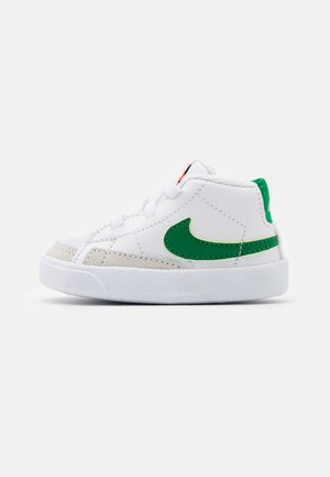 BLAZER MID - First shoes - white/pine green