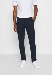 Tommy Hilfiger Tailored - FLEX SLIM FIT PANT - Trousers - blue - 0