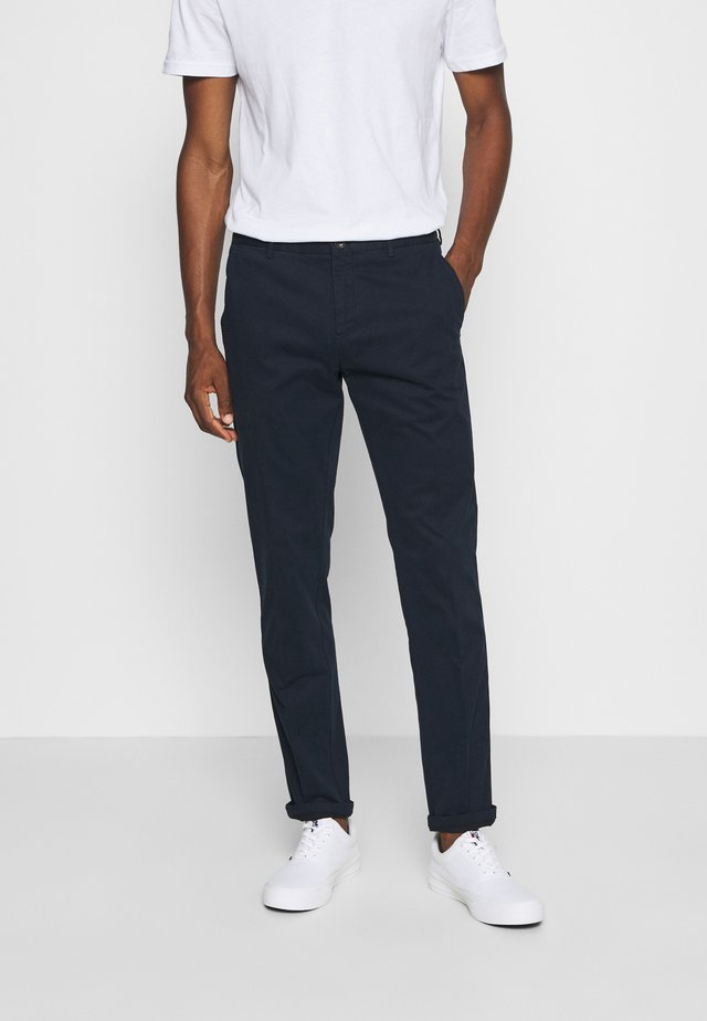 FLEX SLIM FIT PANT - Trousers - blue