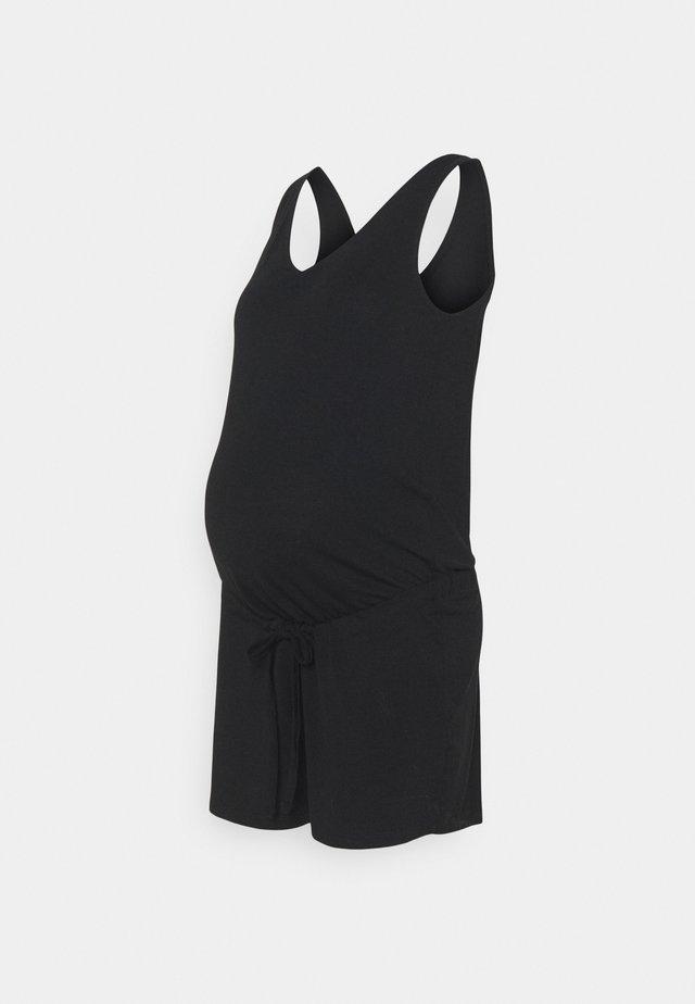 PCMNEORA V-NECK PLAYSUIT - Overal - black