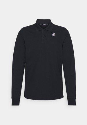 ROCHEL CONTRAST UNISEX - Polo shirt - navy