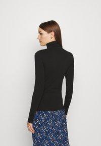 Calvin Klein - TURTLE NECK - Long sleeved top - black - 2