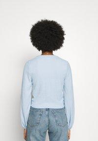 Monki - SIRI - Blouse - solid blue as sketch - 2