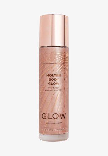 MOLTEN BODY GLOW - Body oil - rose gold